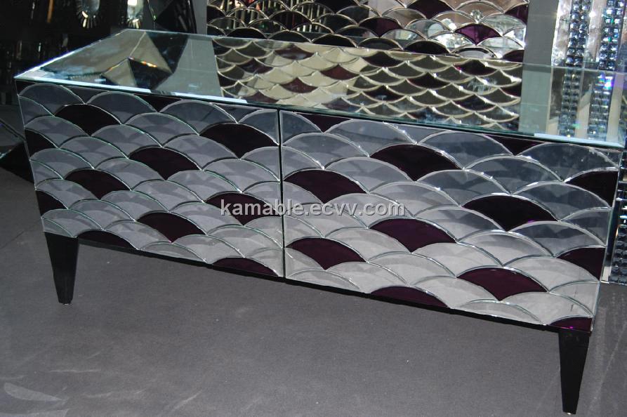 Modern Mirrored Furniture Xjs143