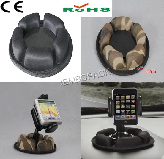 Portable Friction Car Dasd Mount for GPS