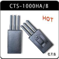 Portable cell phone Jammer Moble Blockers(CTS-1000HA/B)