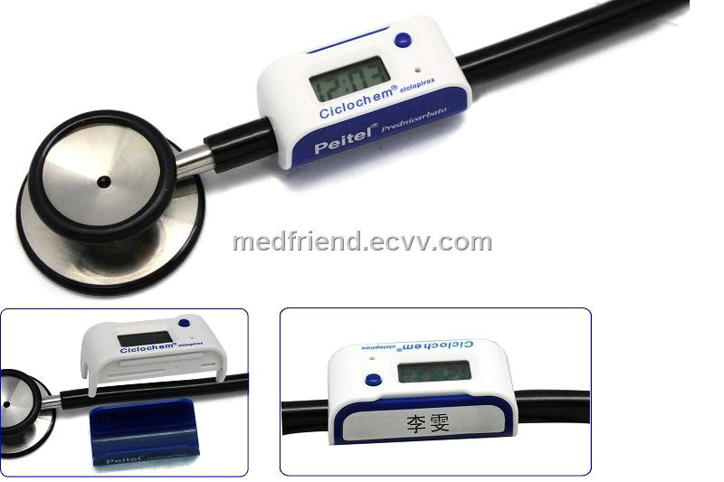 stethoscope clock with doctor name tag purchasing souring agent