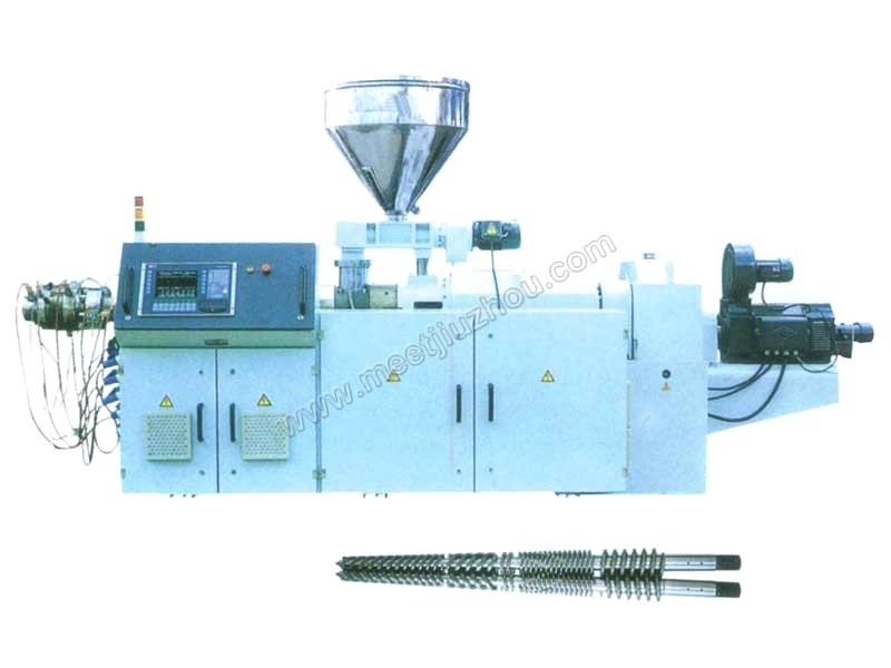 The SJS Twin Conical Screw Extruders