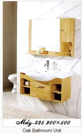 Oak Bathroom Cabinet Set