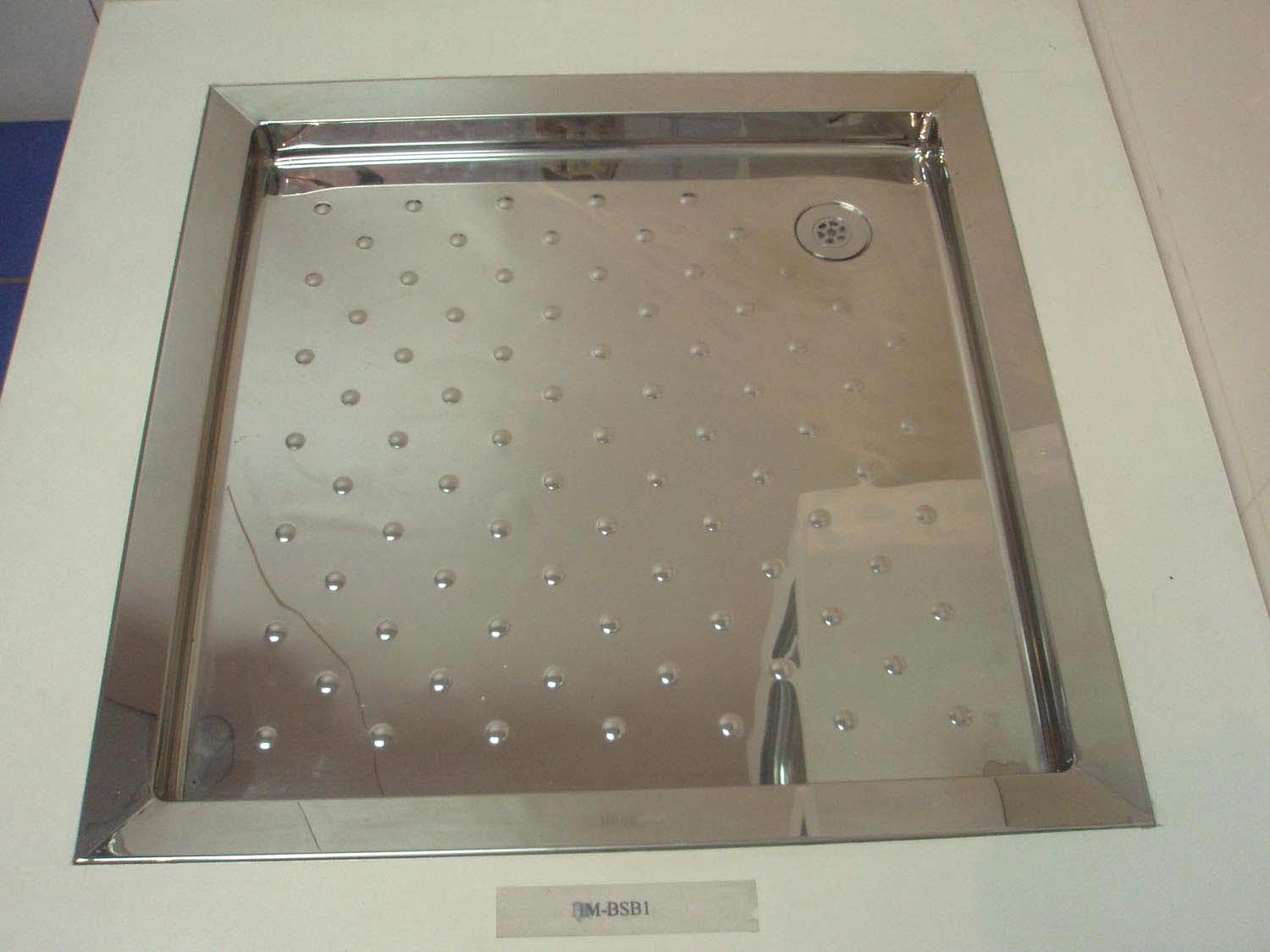 Attirant Stainless Steel Shower Tray