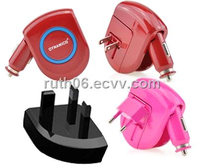 All in one car charger for mobile phone