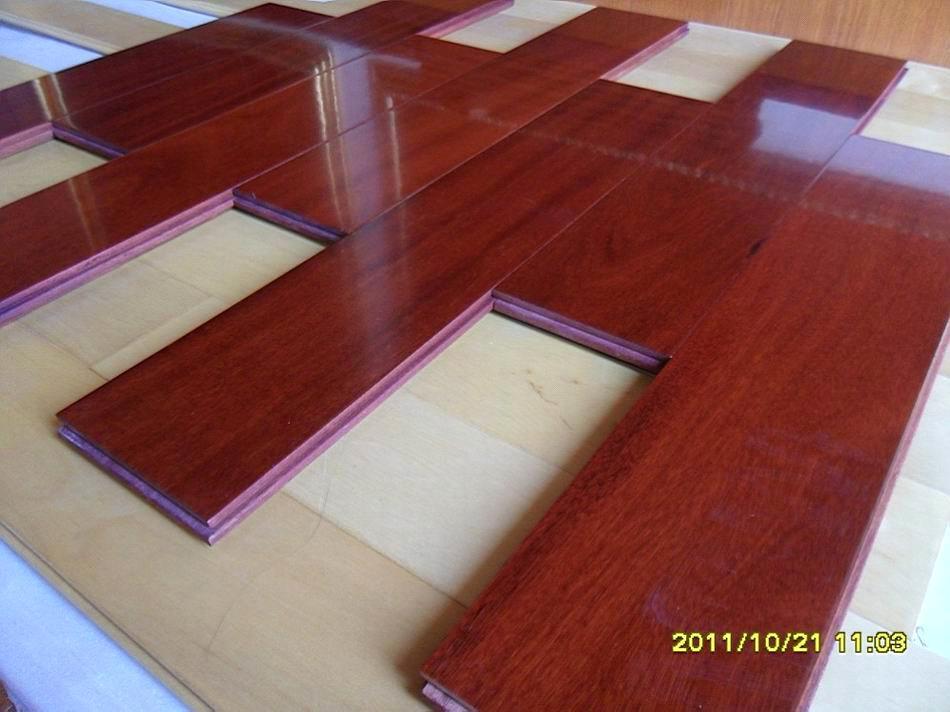 Brazilian Teak Hardwood Flooring I