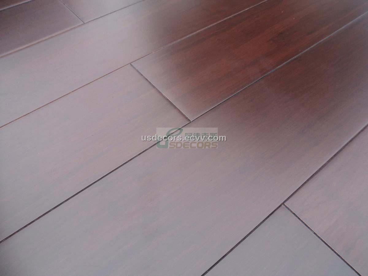 Chocolate Stained Strand Bamboo Flooring