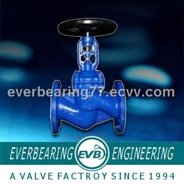 Globe Valve with Bevel Gear