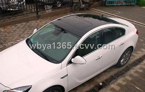 Gloss Black Vinyl Panoramic Car Roof Wrap Purchasing Souring Agent