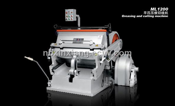ML1200 creasing and die-cutting machine