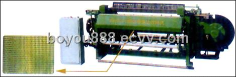 Square Mesh Weaving Machine