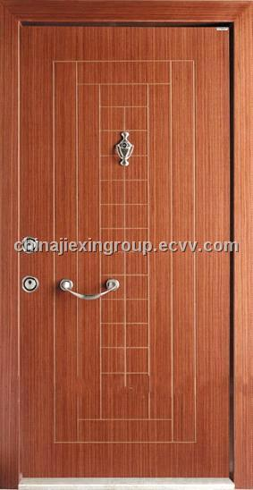 Steel-wooden Armored Security Door (TA319)