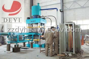 Automatic Hydraulic Brick Machine