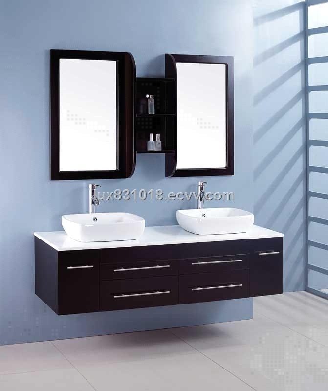 Double Basin Bathroom Vanity Set 8761