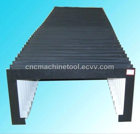 flexible protective shield for cnc machine