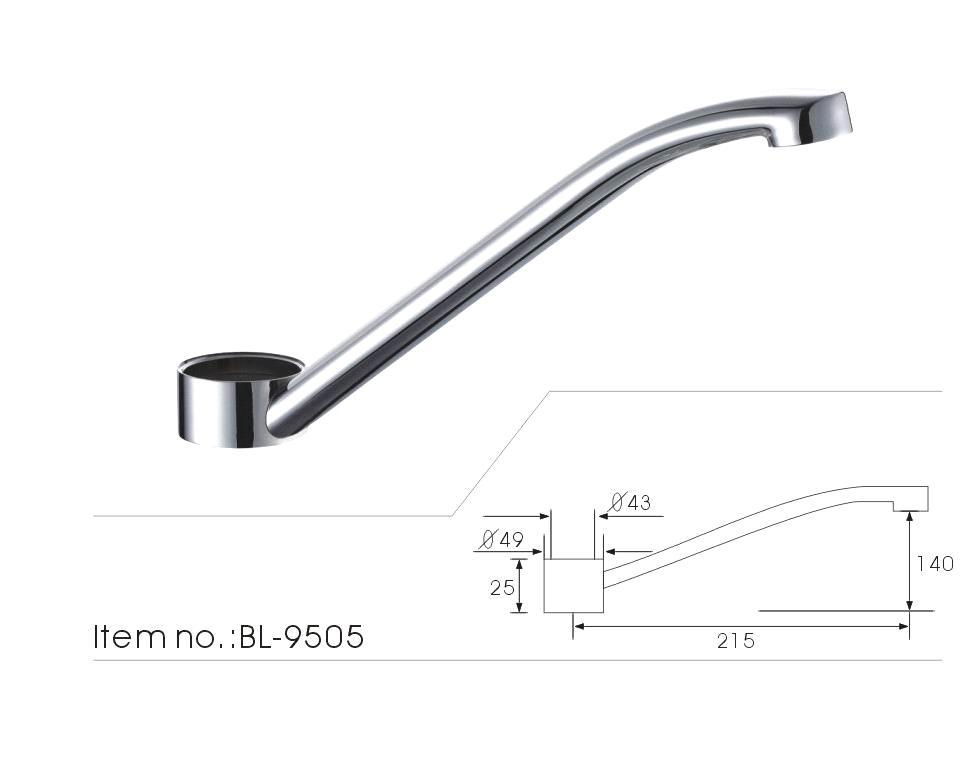High Quality Br Kitchen Faucet Spout Bl 9505