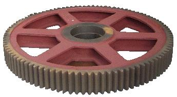 mining machinery winch parts gear (alloy steel casting)