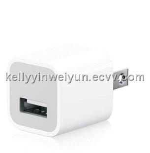 mobile phone wall travel usb charger adapter for iphone 2G, 3gs,4G,ipod,touch