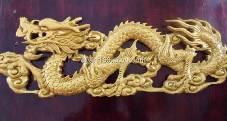 Wooden dragon carving purchasing souring agent ecvv