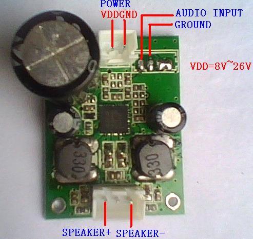 40W Class D Mono Amplifier Module