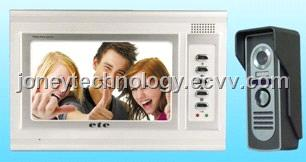7 inch TFT Video door phone with outdoor camera station for single house series