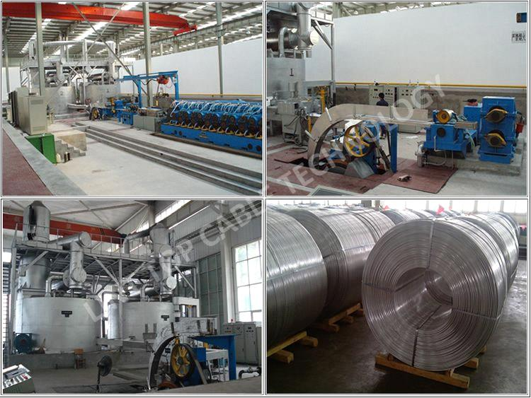 Aluminum Alloy Rod Continuous Casting and Rolling Lines