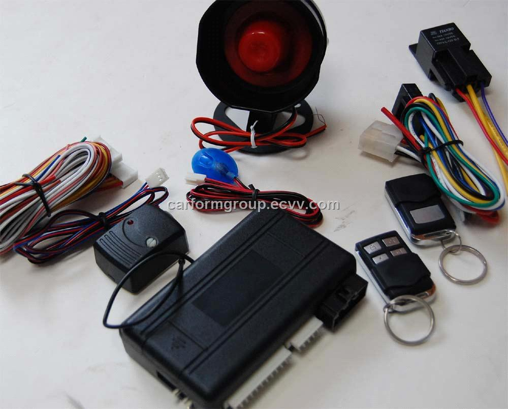 CF898E one way car alarm with remote engine start