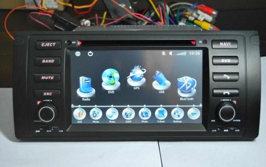 Car DVD Navigation8786GB For BMW E39E53M5