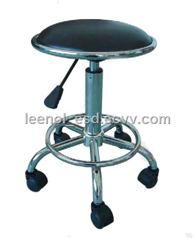 ESD PU Leather Round Chair (LN 4220A)