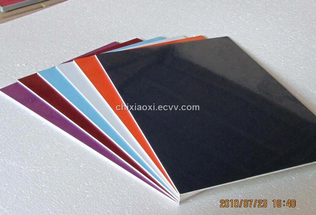 High Gloss Precoated Steel Sheet For Sign Board From China