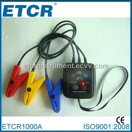 Non-contact Phase Indicator ETCR1000A