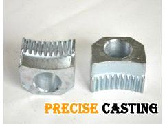 Precision casting of carbon steel auto parts