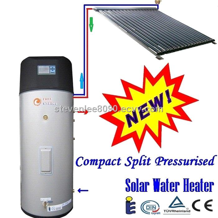 Pressurized Integrated Solar Heating System