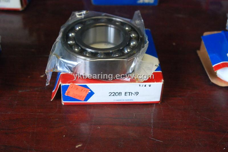 SKF 2208 ETN9 Self aligning ball bearings from China