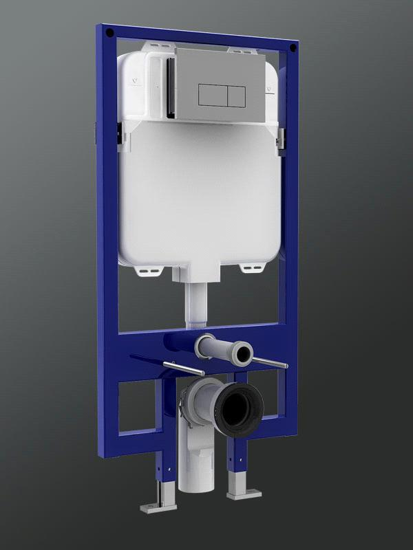 Slim Concealed Cisterns From China Manufacturer