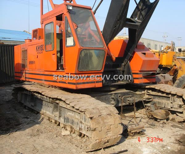 Used Hitachi Crawler 50ton Crane (KH180)