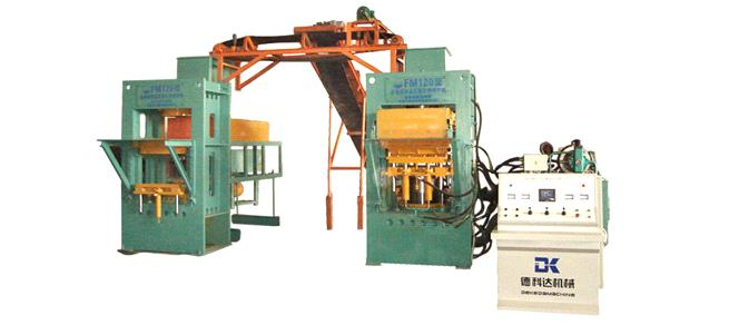 ZDK600 Curing Automatic Brick Forming Machine