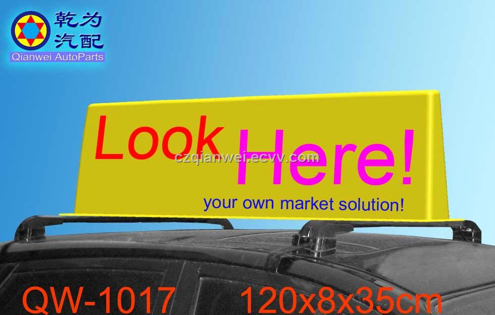 Car Roof Advertising