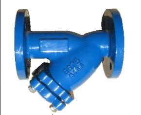 cast or ductile iron valve,y-strainer valve,design:din3352,bolt cover,high pressure