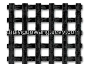 warp knitted plastic geogrid