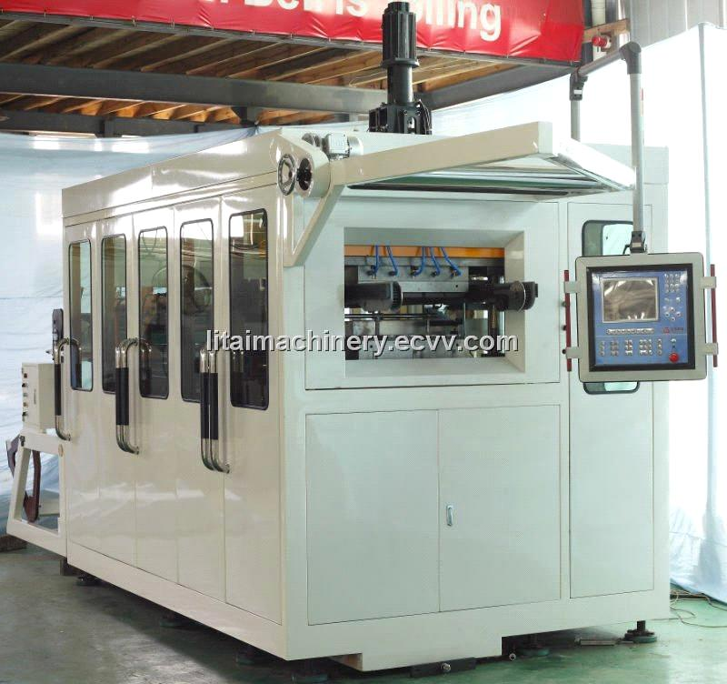 Full-Automatic Coffee Cup Thermoforming Machine (TQC-650A)