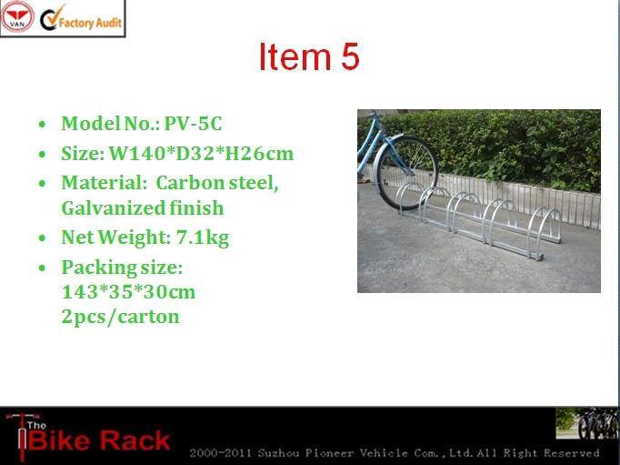 2012 good quality and best walmart 5 bicycle rack(ISO certification approved)