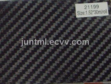 21199 black small texture 3D carbon fiber vinyl film