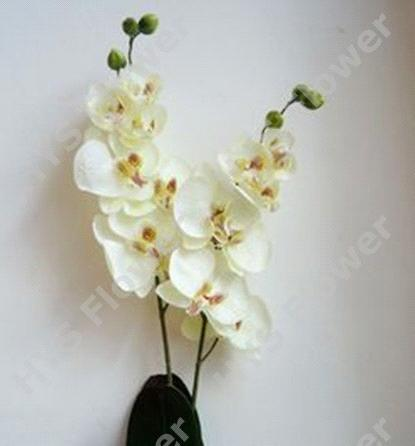 Artificial Flower With High Quality Artificial 2 Stem Orchid Of