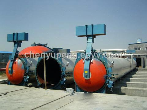Autoclaved Aerated Concrete block machine (Tianyuan Brand)