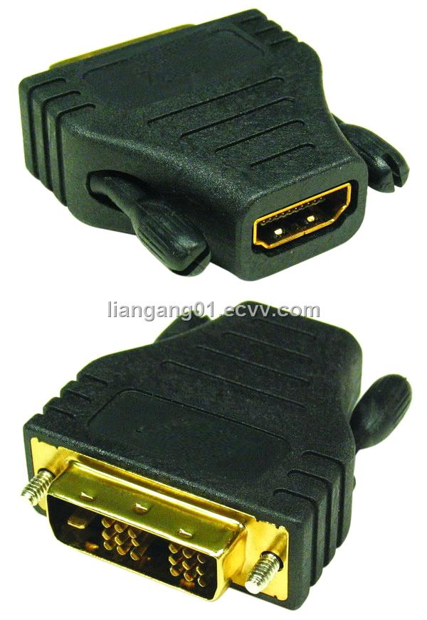 HDMI/F to DVI/ M Adapter(H02-HF-DM)