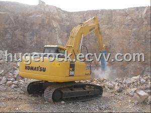 HugeRock Hydraulic Breakers for Komatsu PC200 excavators