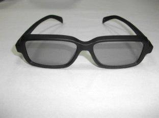 Latest design Circular Polarized 3D/4D/5D TV glasses in PC plastic frame -PH0053
