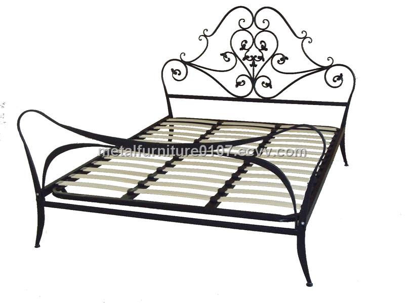Metal bed frame with wooden slats purchasing, souring agent | ECVV ...