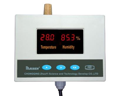RISEN Ultrasonic temp and humidity mesaurement and control system