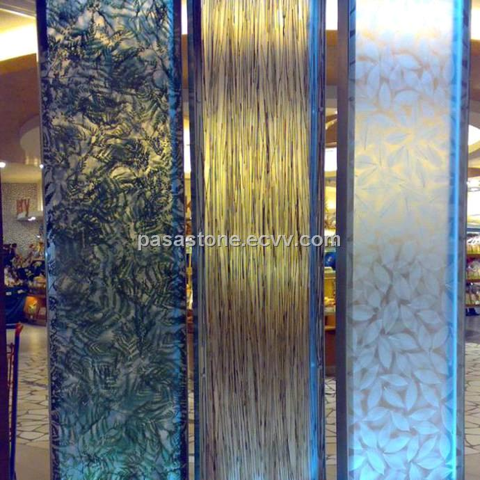 acrylic nature panel for wall partition